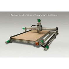 Probotix Nebula CNC router with 4th axis