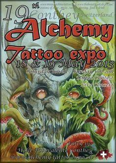 19th Alchemy Tattoo Expo | Tattoo Filter Alchemy Tattoo, Tattoo Posters, Tattoo Expo, Filter, Tattoos, Tatuajes, Japanese Tattoos, Tattoo, Tattoo Illustration