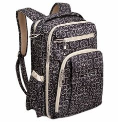 Best back pack Ive ever had. and its a diaper bag. Ju-Ju-Be 'Be Right Back' Diaper Backpack available at (Chocolate Lab Newborn)