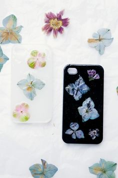 Flower Phone Case DIY