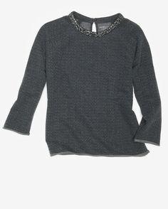 Majestic Crystalized Sweatshirt #delightfullychic