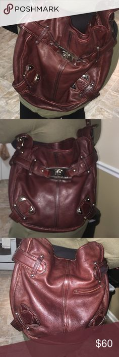 Nice Condition Brown Purse Nice size b. makowsky Bags Shoulder Bags