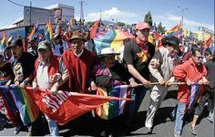 Incrementa criminalización de protestas sociales en Ecuador