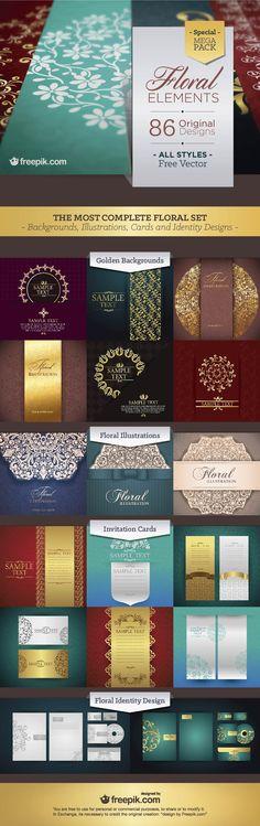 Floral Elements Mega Pack