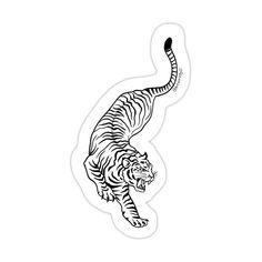 Line Art Tattoos, Body Art Tattoos, Tattoo Drawings, Tribal Tattoos, Baby Tattoos, Dream Tattoos, Future Tattoos, Tiger Tattoo Design, Tattoo Designs