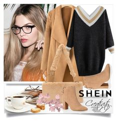 """SHEIN V/5"" by creativity30 ❤ liked on Polyvore featuring shein"