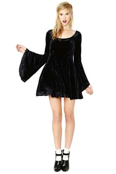 Betsey Johnson Spellbound Velvet Dress