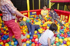 The Ball Pit in our Fun Soft Play Area