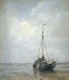 Jacob Maris (25 augustus 1837 – 7 augustus 1899) was een Nederlands impressionistisch kunstschilder van de Haagse School. Jacob Maris werd als de oudste van ...