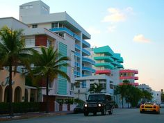 South Beach Miami Art Deco district - been here and it is awesome!