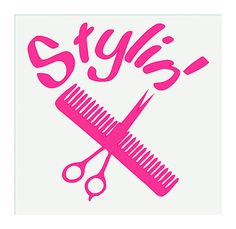 Stylin'  Hair Dresser  Vinyl Decal Sticker  5 by MinglewoodTrading, $4.00