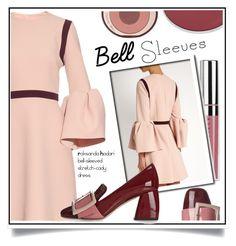"""Street Style Trend: Bell Sleeves"" by ewa-naukowicz-wojcik ❤ liked on Polyvore featuring Roksanda, Miu Miu, Chantecaille, Charlotte Tilbury and bellsleeves"