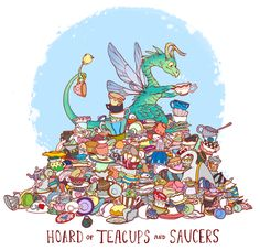 Uncommon Dragon Hoards. Some of these are just too cute <3