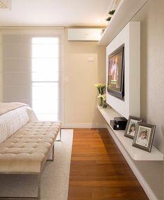 """7,142 curtidas, 38 comentários - Home•decor•arq•house•int•casa (@_homeidea) no Instagram: """"Detalhes do quarto by Monise Rosa com o mix do branco e bege. Amo❣️ Me encontre também no…"""""""