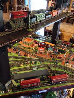 Your Quick Guide To Model Railroad Layout Kits Toy Trains, Model Trains, Heber Springs Arkansas, N Scale Trains, Model Train Layouts, Ho Scale, Airports, Scale Models, Planes
