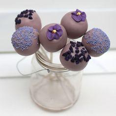Rhubarb & Rose: Blue birthday cake pops | push pop. | Pinterest | Blue ...