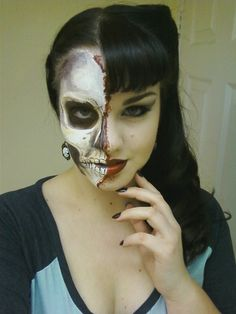 Hot Halloween Makeup Idea