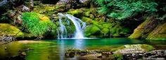 explicito:transmite tranquilidad,paz, ambiente fuera de contaminaciones.  implicito: se puede observar agua,plantas,piedras,claridad.