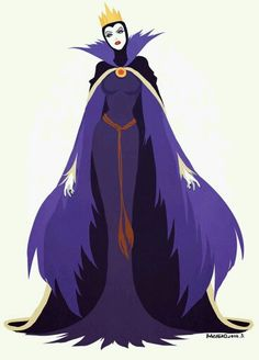 Disney Villains: The Evil Queen Disney Pixar, Disney Animation, Animation 3d, Disney Fan Art, Disney And Dreamworks, Disney Love, Disney Characters, Disney Villains Art, Disney Evil Queen
