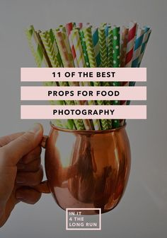 Take your food photography to the next level with 11 of the best props for food photography.