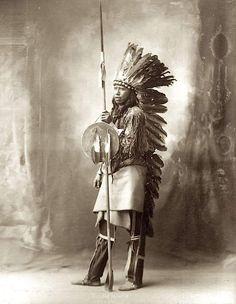 Желтая Сорока, арапахо. 1898