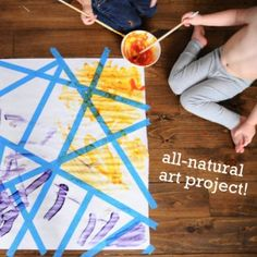 All-natural art project!