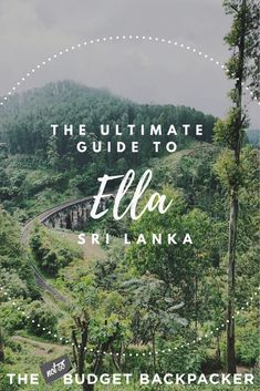 From hiking the picturesque green hills, walking along forgotten railway tracks and sipping all the tea if you're heading to Sri Lanka's mountain haven, here are the 8 best things to do in Ella Sri Lanka. Sri Lanka Photography, Travel Photography, Sri Lanka Accommodation, Laos, Adam's Peak Sri Lanka, Cool Places To Visit, Places To Go, Ella Sri Lanka, Sri Lanka Itinerary