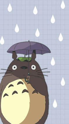 Cute Wallpaper Backgrounds, Wallpaper Iphone Cute, Disney Wallpaper, Cartoon Wallpaper, Cute Wallpapers, Studio Ghibli Art, Studio Ghibli Movies, Totoro Tumblr, Dream Anime