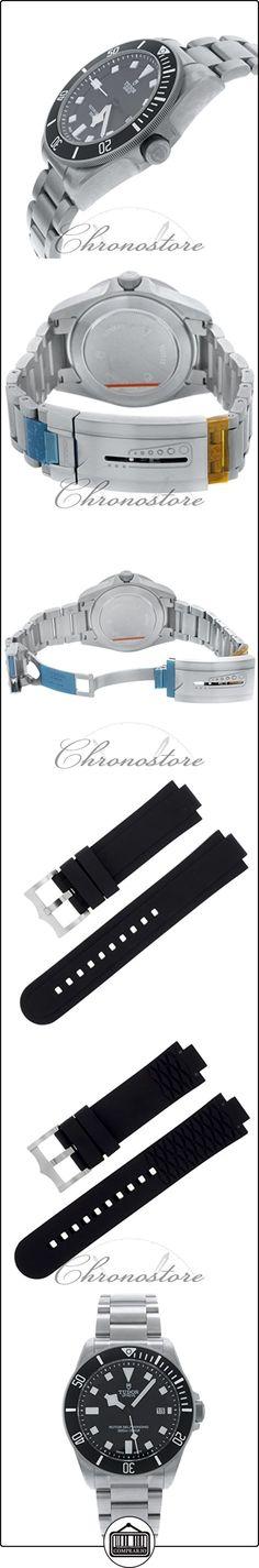 Tudor 25500TN - Reloj para hombres, correa de titanio color acero  ✿ Relojes para hombre - (Lujo) ✿