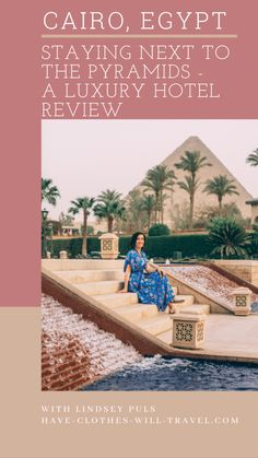 Dreaming of waking up next to the Pyramids? Did you know there is a luxury hotel right NEXT to the Pyramids of Giza? I'm giving a complete honest review of this hotel - sharing the pros and the cons. #cairo #egypt #giza #pyramids #luxury #hotel Egypt Travel, Africa Travel, Morocco Travel, Nile River Cruise, Pyramids Of Giza, Cairo Egypt, Best Hotels, Luxury Hotels, Luxury Travel