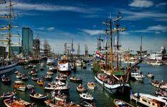 Sail Amsterdam, the Netherlands.