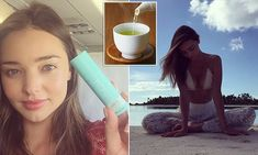 Miranda Kerr's secret to glowing skin is green tea steam baths
