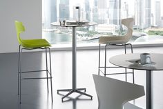 Echo-Sga Stool is funky and designed to transform your kitchen into party zone. Whether you use it for private kitchen or commercial space, the stool bar will add to the fun factor.