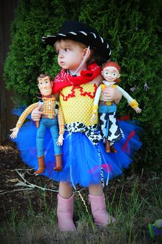 Pre Order Toy Story Jessie the Cowgirl inspired Tutu dress. Perfect for Halloween, Birthday's or Dress up. nb-6t. $55.00, via Etsy.