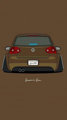Golf trick, tips and training Volkswagen Golf Mk2, Vw Golf Mk4, Car Iphone Wallpaper, Car Wallpapers, Tuner Cars, Jdm Cars, Vw R32 Mk4, Wolkswagen Golf, Jetta A4