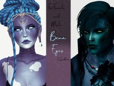 Eyes Color Collection The Sims 4 _ - Clove share Asia Tổng hợp Custom Content The Sims 4 game Sims 3, Sims Four, Sims 4 Mm Cc, Sims 4 Cas, Los Sims 4 Mods, Aliens, Mermaid Skin, Sims 4 Cc Eyes, Sims 4 Anime