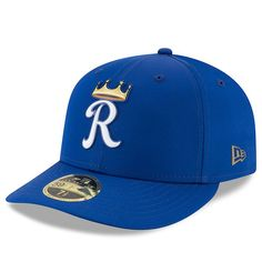 separation shoes 25e9b 8ec1f Men s Kansas City Royals New Era Royal 2018 On-Field Prolight Batting  Practice Low Profile 59FIFTY Fitted Hat, Sale   29.99 - You Save   6.00
