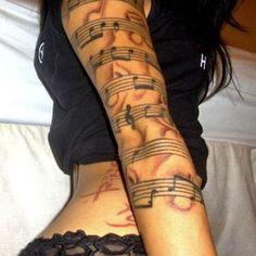 Musical Tattoos | Inked Magazine
