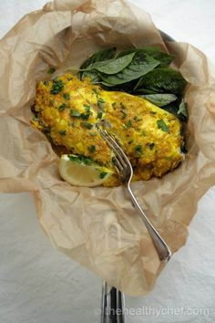 Steamed White Fish In Ginger + Turmeric : The Healthy Chef – Teresa Cutter