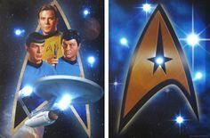 Remember Leonard Nimoy today. Long live Spock!! LED light cred = Star Trek Canvas Prints.