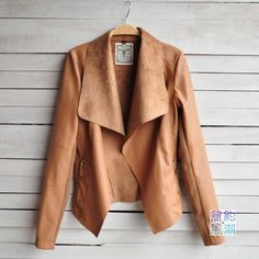 Spring&winter 2014 Hot Sell New Designers Europe and America Coat Women Fashion Slim Short PU Leather jacket Women black&Brown