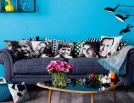 Photo Pillows - family room favorites. #SFLYDecor
