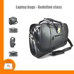 Style is not only about apparel. It's about much more. Classic Laptop bags that complete your look. Shop for this and more @ www.27avenue.com