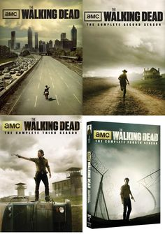 The Walking Dead Seasons 1-4 DVD Set $49.99