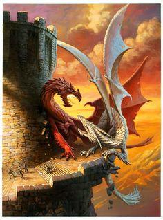 La segunda parte de los dragones de Bretaña http://cuervogales.blogspot.com/2013/05/y-draig-goch-hwite-draca-el-dragon-rojo_19.html