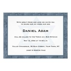 ==> consumer reviews          Blue Grunge Border, Star, Bar Mitzvah Invitation           Blue Grunge Border, Star, Bar Mitzvah Invitation you will get best price offer lowest prices or diccount couponeHow to          Blue Grunge Border, Star, Bar Mitzvah Invitation Online Secure Check out Q...Cleck Hot Deals >>> http://www.zazzle.com/blue_grunge_border_star_bar_mitzvah_invitation-161732578228198960?rf=238627982471231924&zbar=1&tc=terrest