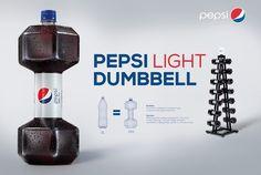 Pepsi Light Dumbbell