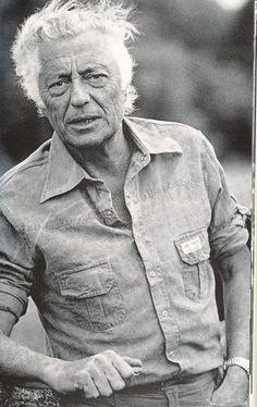 Gianni Agnelli in denim shirt