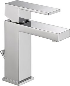 $133.56 Delta Faucet Ara® Lavatory Faucet with Single Lever Handle in Polished Chrome D567LFPP