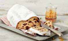 Stollen Recipe, Christmas Cookies, Camembert Cheese, Dairy, Bread, Cake, Sweet, Holiday, Marzipan